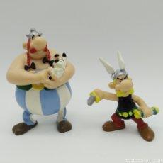 Figuras de Goma y PVC: LOTE DE FIGURAS, ASTÉRIX, OBÉLIX E IDÉFIX DE PLASTOY 1997. Lote 197495033
