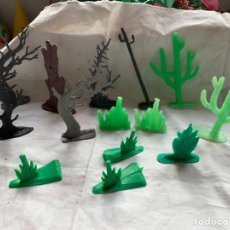 Figuras de Goma y PVC: FIGURAS DE VEGETACIÓN. JECSAN/REAMSA/LAFREDO/PECH. Lote 197740203