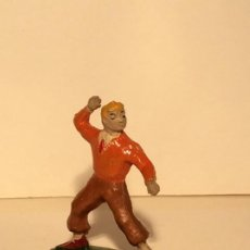 Figuras de Goma y PVC: PEDRIN EN GOMA DE ROBERTO ALCAZAR Y PEDRIN DE ESTEREOPLAST - RARO. Lote 197833167