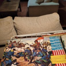 Figuras de Goma y PVC: JECSAN COMANSI REAMSA LAFREDO GUERRAS INDIAS JUEGO. Lote 197869913