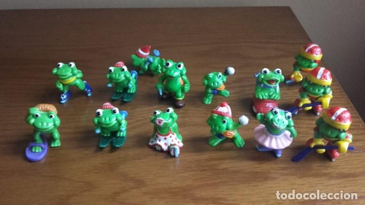 FIGURAS KINDER SORPRESA RANA (Juguetes - Figuras de Gomas y Pvc - Kinder)