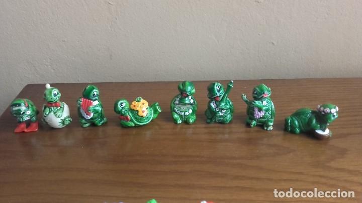 FIGURAS KINDER SORPRESA TURTTLE (Juguetes - Figuras de Gomas y Pvc - Kinder)