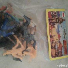 Figuras de Goma y PVC: BOLSA, BLISTER , COMANSI ,DAVY CROCKED. Lote 198012707