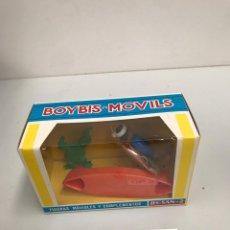 Figuras de Goma y PVC: FIGURAS MOVIBLES Y COMPLETOS JECSAN BOYBIS MOVILS. Lote 198069241