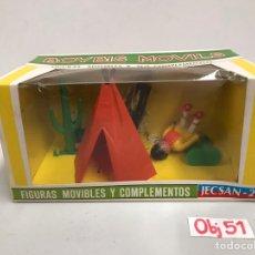 Figuras de Goma y PVC: FIGURAS MOVIBLES Y COMPLETOS JECSAN BOYBIS MOVILS. Lote 198069708