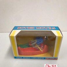 Figuras de Goma y PVC: FIGURAS MOVIBLES Y COMPLETOS JECSAN BOYBIS MOVILS. Lote 198069718