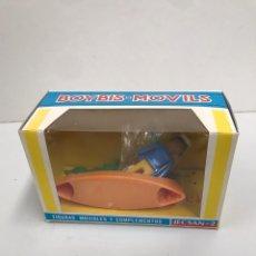 Figuras de Goma y PVC: FIGURAS MOVIBLES Y COMPLETOS JECSAN BOYBIS MOVILS. Lote 198069765