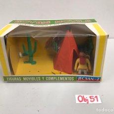 Figuras de Goma y PVC: FIGURAS MOVIBLES Y COMPLETOS JECSAN BOYBIS MOVILS. Lote 198069850
