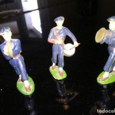 Figuras de Goma y PVC: CONJUNTO DE TRES SOLDADOS MÚSICOS DEL EJERCITO FRANCÉS DE STARLUX.. Lote 198077623