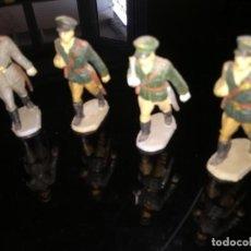 Figuras de Goma y PVC: CONJUNTO DE 4 SOLDADOS DE GOMA DE STARLUX. Lote 198077663