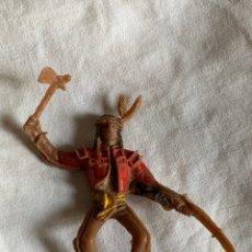 Figurines en Caoutchouc et PVC: INDIO. JECSAN/LAFREDO/REAMSA/LAFREDO. 8 CM ( ALTO). Lote 198105215