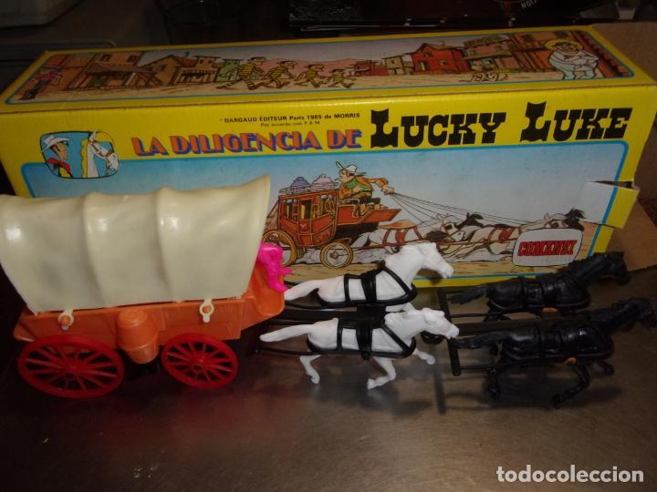 Figuras de Goma y PVC: LA DILIGENCIA de Lucky Luke COMANSI - Foto 2 - 100330467