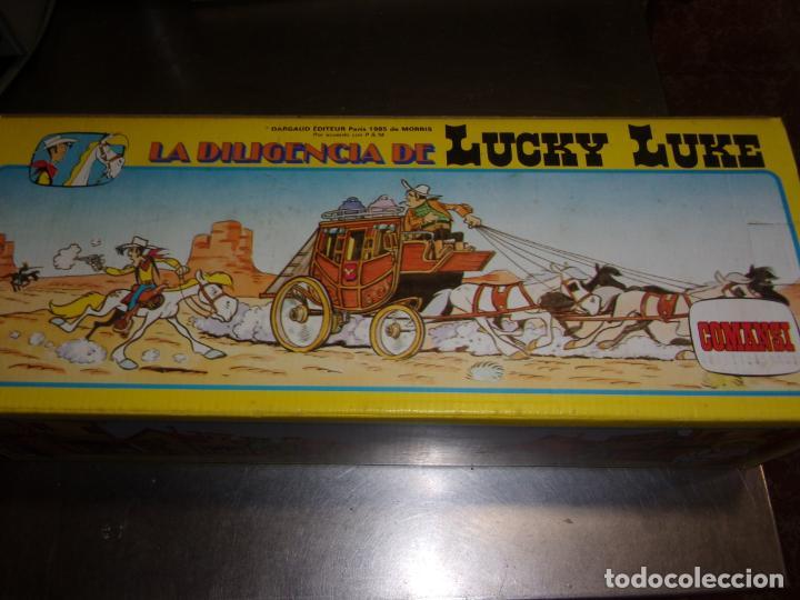 Figuras de Goma y PVC: LA DILIGENCIA de Lucky Luke COMANSI - Foto 4 - 100330467