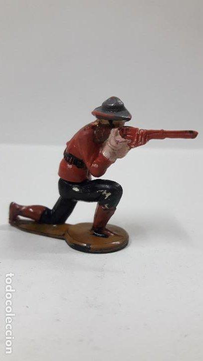 Figuras de Goma y PVC: POLICIA MONTADA DEL CANADA . REALIZADO POR GAMA . AÑOS 50 EN GOMA - Foto 2 - 198162553