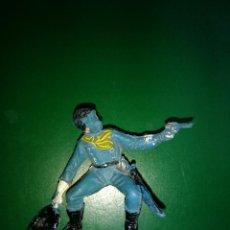 Figuras de Goma y PVC: SOLDADO YANKI DE COMANSI 1ª EPOCA ORIGINAL . Lote 198191178