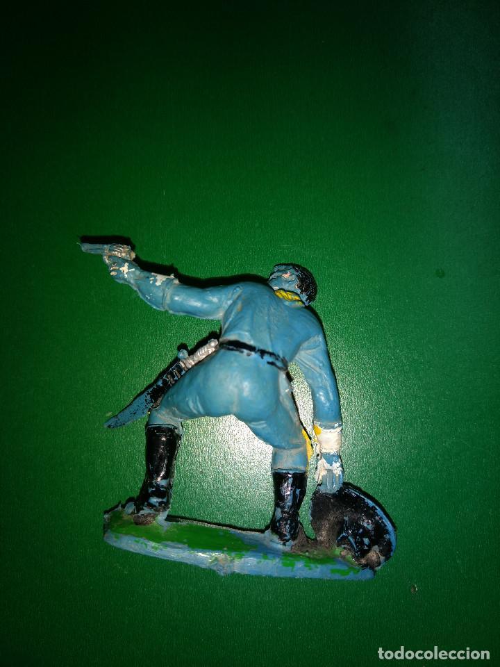 Figuras de Goma y PVC: soldado yanki de comansi 1ª epoca ORIGINAL - Foto 2 - 198191178