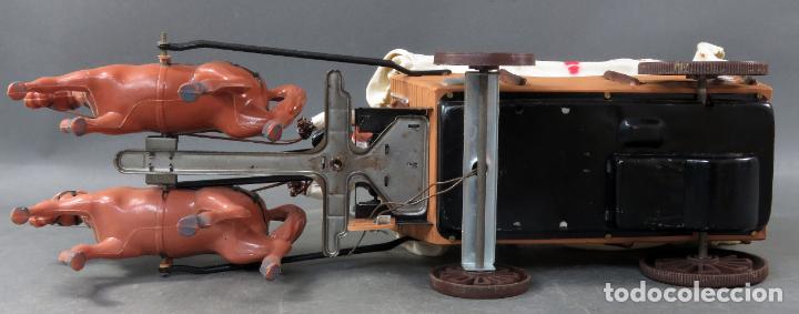 Figuras de Goma y PVC: Caravana de Vicma Wagon Master con caballos y conductor años 60 usada - Foto 10 - 198191627