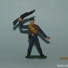Figuras de Goma y PVC: ANTIGUA FIGURA LOS HOMBRES DE HARRELSON SERIE DE TVE - SWAT DE COMANSI PARA SANCHIS - AÑO 1970S.. Lote 198229586