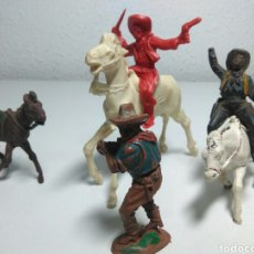 Figuras de Goma y PVC: FIGURAS DEL OESTE GOMA REANSA ,JESCAN ,COMAMSI. Lote 198248083