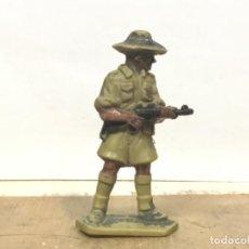 Figuras de Goma y PVC: FIGURA AUSTRALIANO MILITAR NO PECH REAMSA JECSAN COMANSI CASCOS AZULES SOLDADOS MUNDO BRITAINS . Lote 198258656