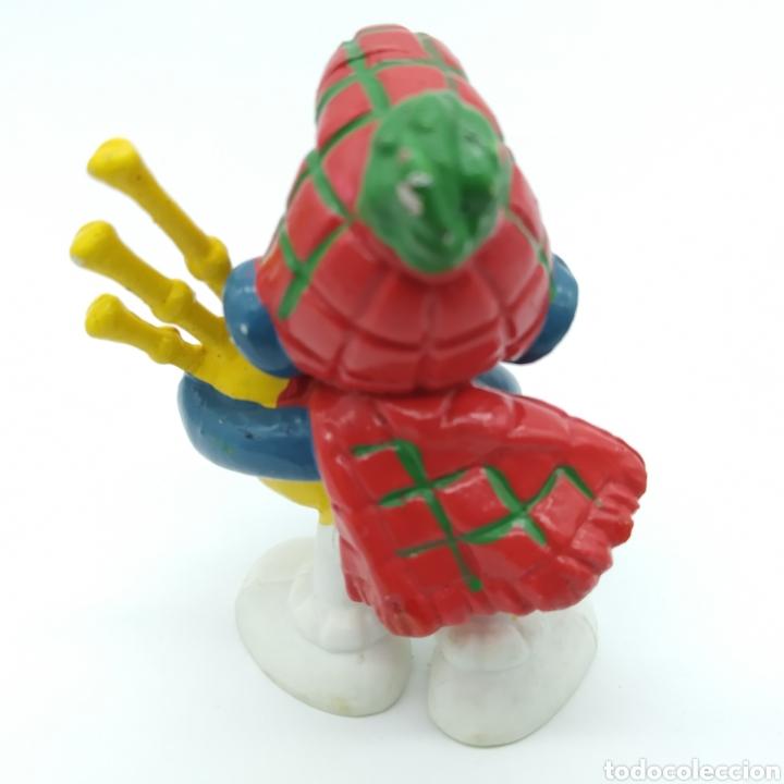 Figuras de Goma y PVC: Pitufo gaitero - PEYO 1978 - Foto 2 - 198341943