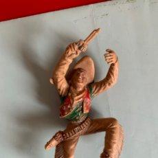 Figuras de Goma y PVC: VAQUERO. LAFREDO. SERIE GRANDE. (12,5 CM). Lote 198381572