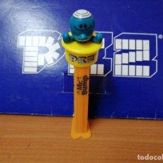 Dispensador Pez: DISPENSADOR DE CARAMELOS PEZ ( MR. BUMP ) USADO. Lote 198412403