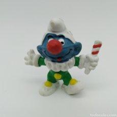 Figuras de Goma y PVC: PITUFO PAYASO - PEYO SIN FECHA - AÑOS 80. Lote 198430892