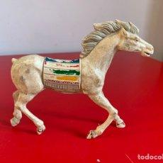 Figuras de Goma y PVC: CABALLO INDIO. LAFREDO. SERIE GRANDE. 12,5 CM. SIN COLA. Lote 198461223