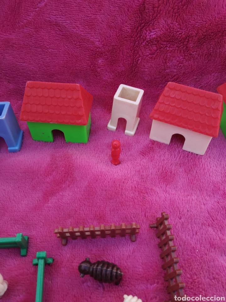 Figuras de Goma y PVC: Lote de animales miniatura años 60-70 - Foto 7 - 198653872