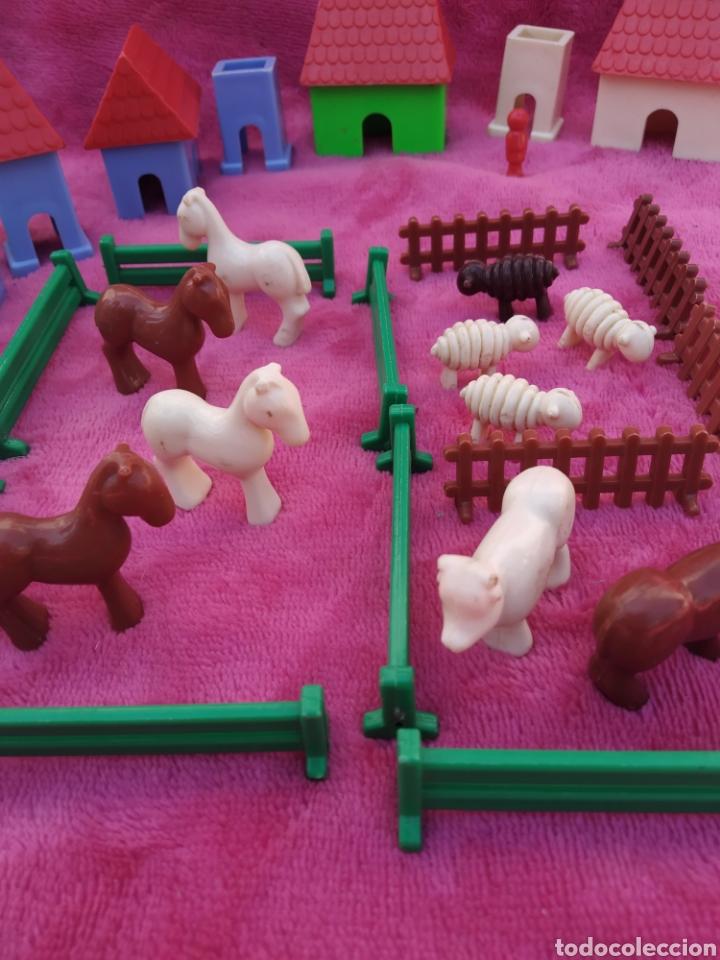 LOTE DE ANIMALES MINIATURA AÑOS 60-70 (Juguetes - Figuras de Goma y Pvc - Otras)