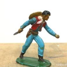 Figuras de Goma y PVC: ANTIGUO COWBOY AÑOS 50 OESTE JIM MICHEL STARLUX REAMSA JECSAN PECH ALCA CAPELL . Lote 198753551