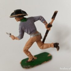 Figuras de Goma y PVC: FIGURA VAQUERO JECSAN. Lote 198826493
