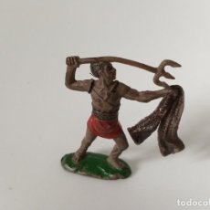 Figuras de Goma y PVC: FIGURA GLADIADOR ROMANO REAMSA GOMA. Lote 198827020