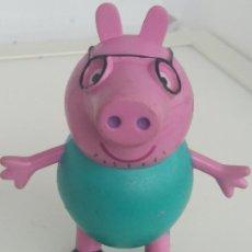 Figuras de Goma y PVC: FIGURA PEPPA PIG PAPA 2003 COMANSI 99682. Lote 198971352