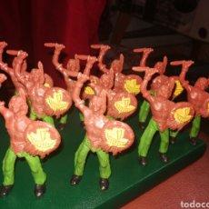 Figuras de Goma y PVC: 10 FIGURAS COMANSI OFERTA POR SER EL MISMO MODELO. Lote 199068823