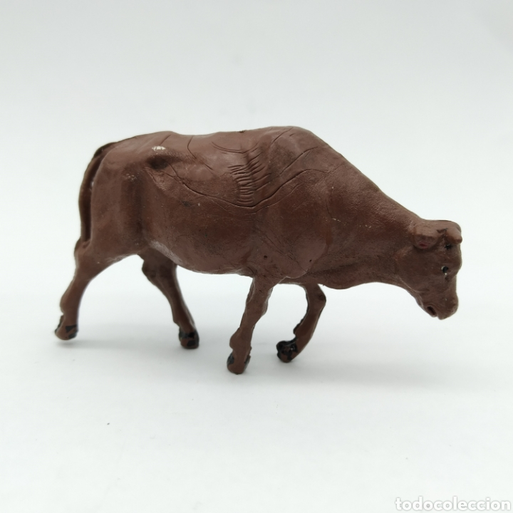Figuras de Goma y PVC: Lote de 3 vacas, reses, Ganado oeste de Reamsa años 50 - Foto 11 - 199155577