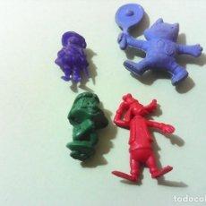 Figuras de Goma y PVC: LOTE FIGURAS MONOCROM DUNKIN PIPERO. Lote 199294408