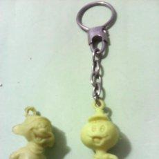 Figuras de Goma y PVC: LOTE DE 2 FIGURAS MONOCROMO. Lote 199294507