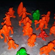 Figuras de Goma y PVC: 23 FIGURITAS AXTERIX, TODAS DIFERENTES. DUNKIN. COLECCIÓN ASTERIX ORTIZ.. Lote 199314225