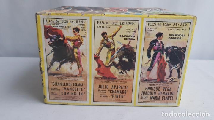 Figuras de Goma y PVC: Tablao flamenco en madera mas 2 figuras de feria de sevilla de comansi - Foto 4 - 199336473