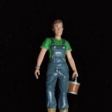 Figuras de Goma y PVC: FIGURA DE MUJER DE GOMA- BULLY.. Lote 199421156