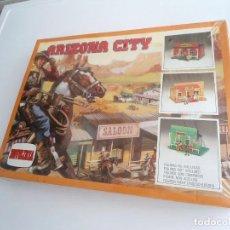 Figuras de Goma y PVC: ARIZONA CITY - KIT DE PLASTICO PARA MONTAR 28705 - NOVOLINEA AÑOS 80 - PERFECTO ESTADO (PRECINTADO). Lote 199422261
