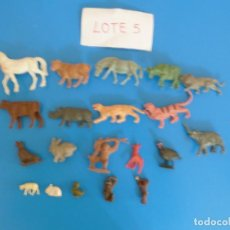 Figuras de Goma y PVC: LOTE DE 20 MUÑECOS DE ANIMALES DE COMANSI Y OTROS ANTIGUOS DE KIOSKO LEER BIEN ***** LOTE 5. Lote 199428975