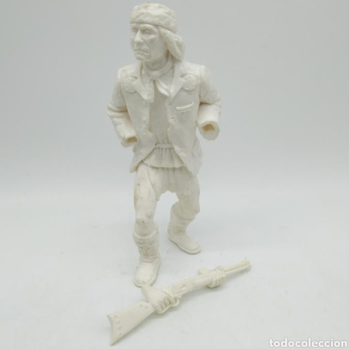 Figuras de Goma y PVC: ¡ÚNICA! GERÓNIMO, Heroes of the West, The Wild West de COMANSI, diseño de Hugo González, Rareza - Foto 3 - 199429245