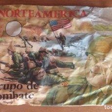Figuras de Goma y PVC: MONTAPLEX SOBRE VACIO. Lote 199457378