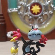 Figuras de Goma y PVC: FIGURA PVC O GOMA DURA GATO DE CHICHA TATO Y CLODOVEO COMICS SPAIN IBAÑEZ. Lote 199519713