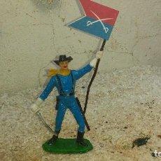 Figuras de Goma y PVC: SOLDADO DEL 7º DE CABALLERIA DE COMANSI. Lote 199634402