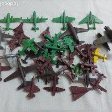 Figuras de Goma y PVC: LOTE DE AVIONES DE PLASTICO MONTAPLEX.. Lote 199659106