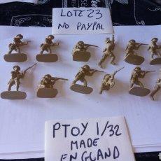Figuras de Goma y PVC: AIRFIX 1/32 LOTE 12 SOLDADO MILITAR INFANTERÍA SEGUNDA GUERRA MUNDIAL INGLESES MATCHBOX AÑOS 70 - 80. Lote 199750755